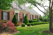 Residential two story brick home in an upscale neighborhood.