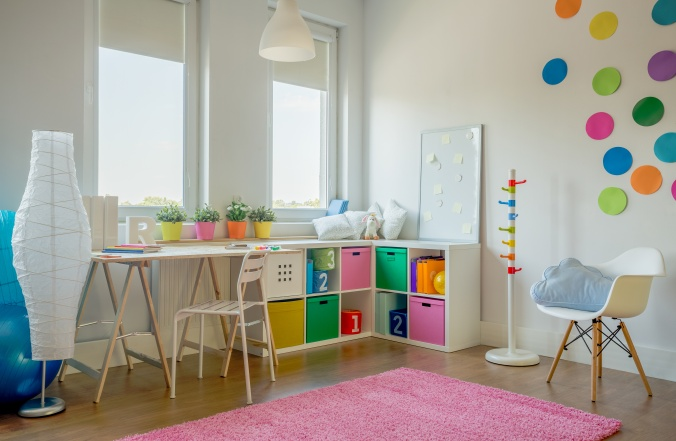 Designed kids room