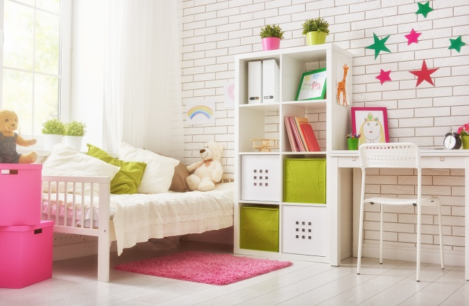 bedroom for child girl